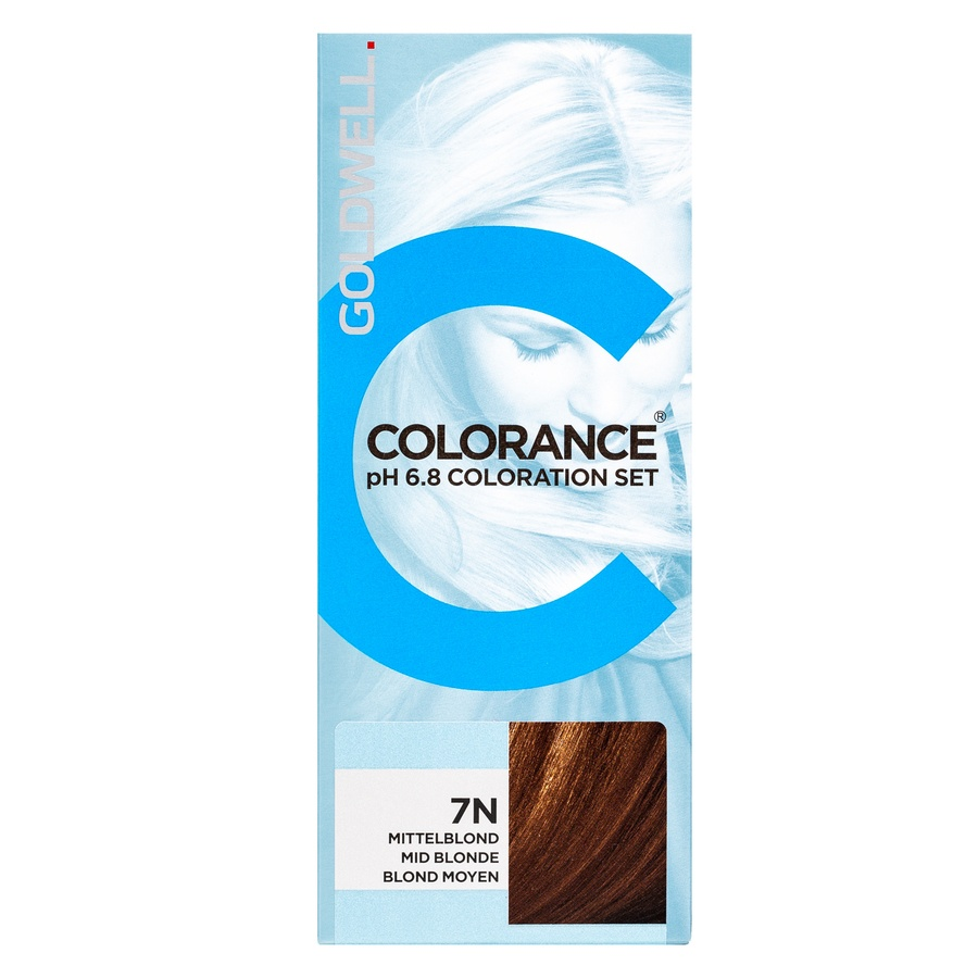 Goldwell Colorance pH 6.8 Coloration Set 7N Mid Blonde 90ml
