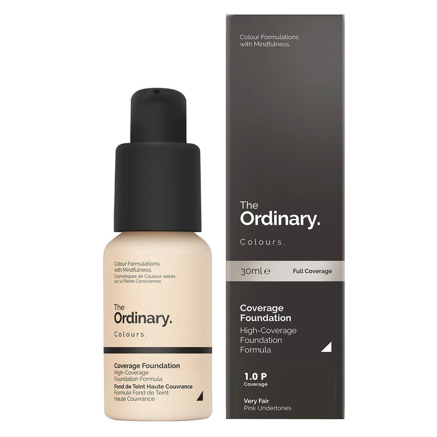 The Ordinary Coverage Foundation 1.0 P Very Fair Pink 30ml