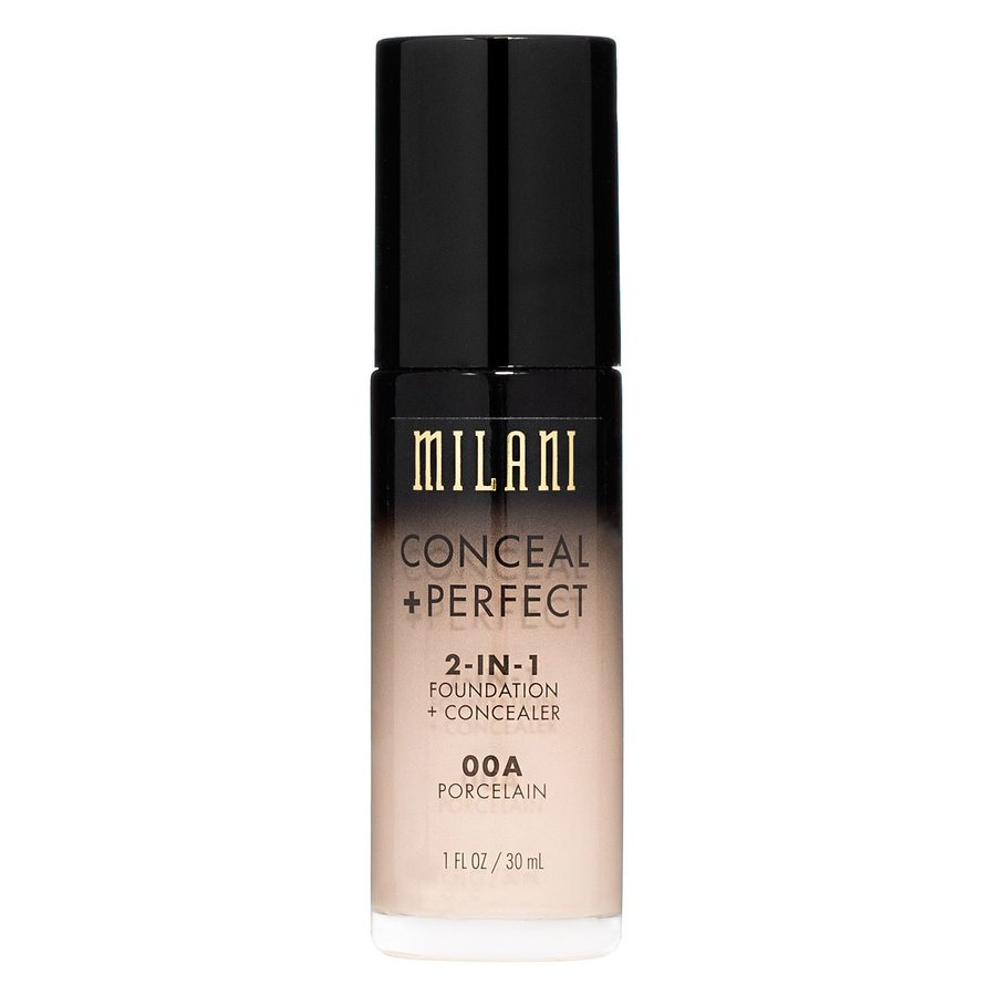 Milani Conceal & Perfect 2 In 1 Foundation + Concealer Porcelain