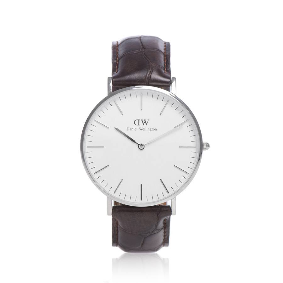Daniel Wellington York Silver 40mm DW00100025
