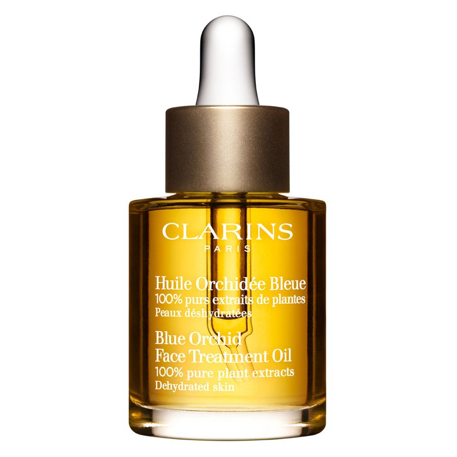 Clarins Face Treatment Oil Blue Orchid Dehydrated Skin 30ml