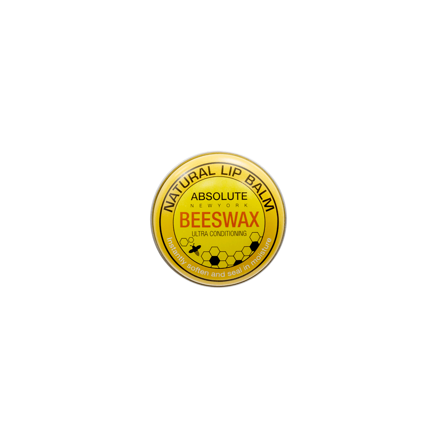 Absolute New York Natural Lip Balm Beeswax ANB01