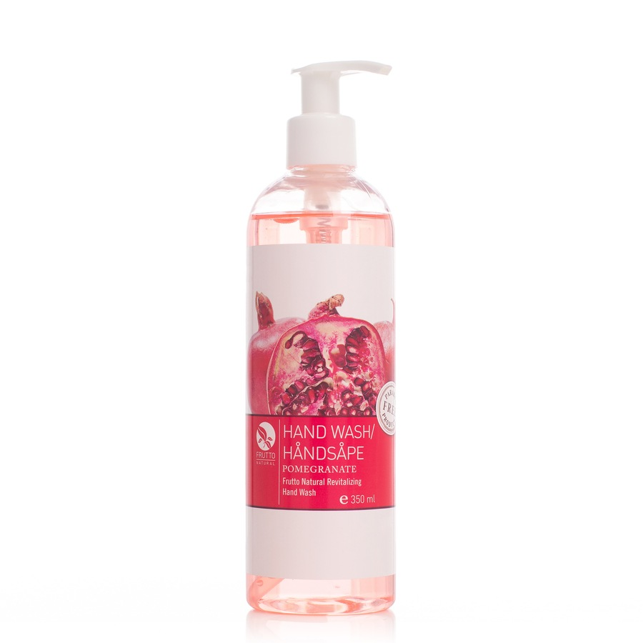 Frutto Natural Hand Wash Revitalizing Pomegranate 350ml