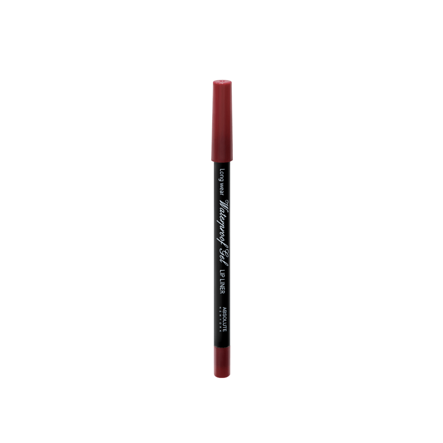 Absolute New York Waterproof Gel Lip Liner True Red NFB73
