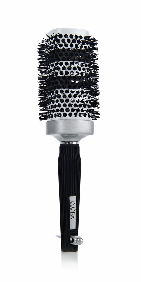 Keratherapy Square Ceramic Curling Brush With Heat Indicator 53mm