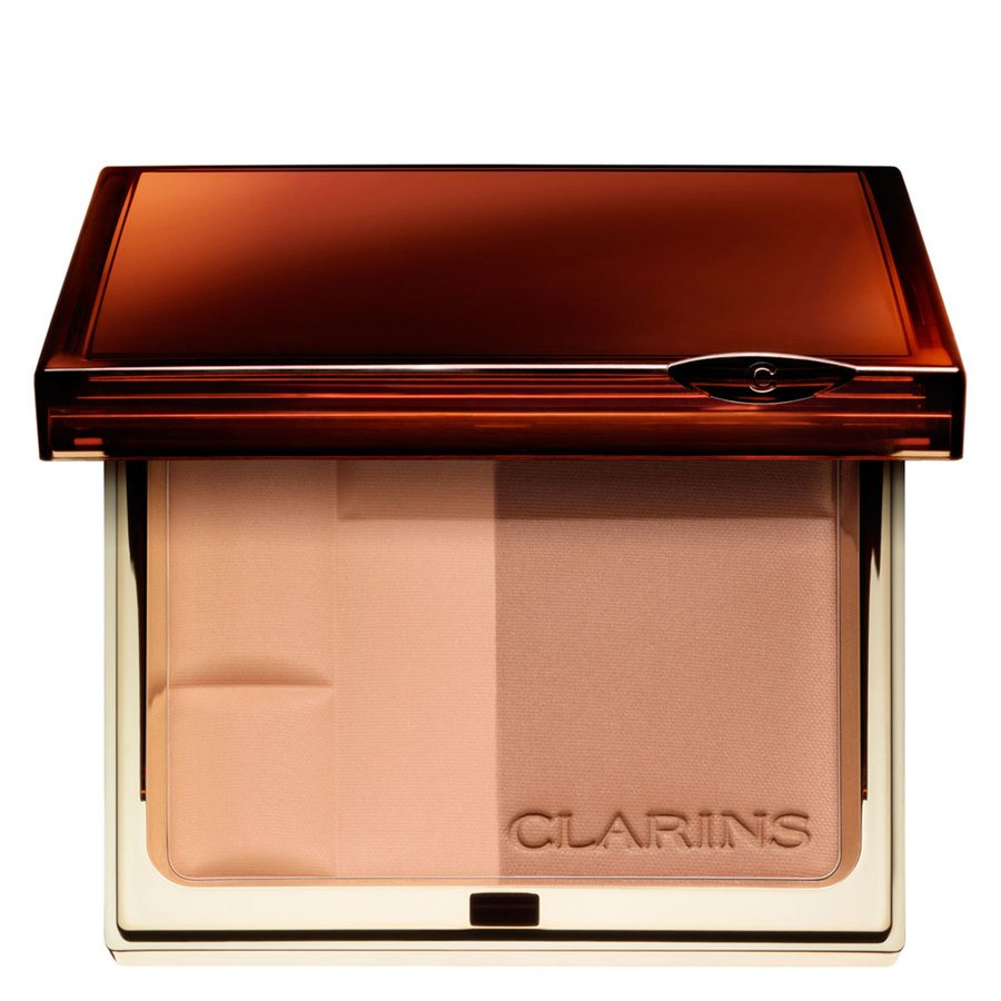Clarins Bronzing Duo SPF15 Mineral Powder Compact #01 Light 10g