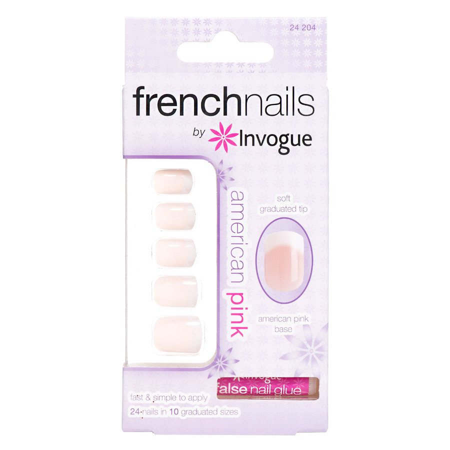 Invogue French Nails Americian Pink