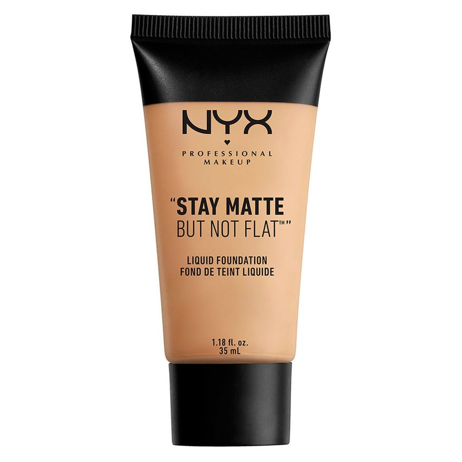 NYX Professional Makeup Stay Matte But Not Flat Liquid Foundation Naturel 35ml SMF03