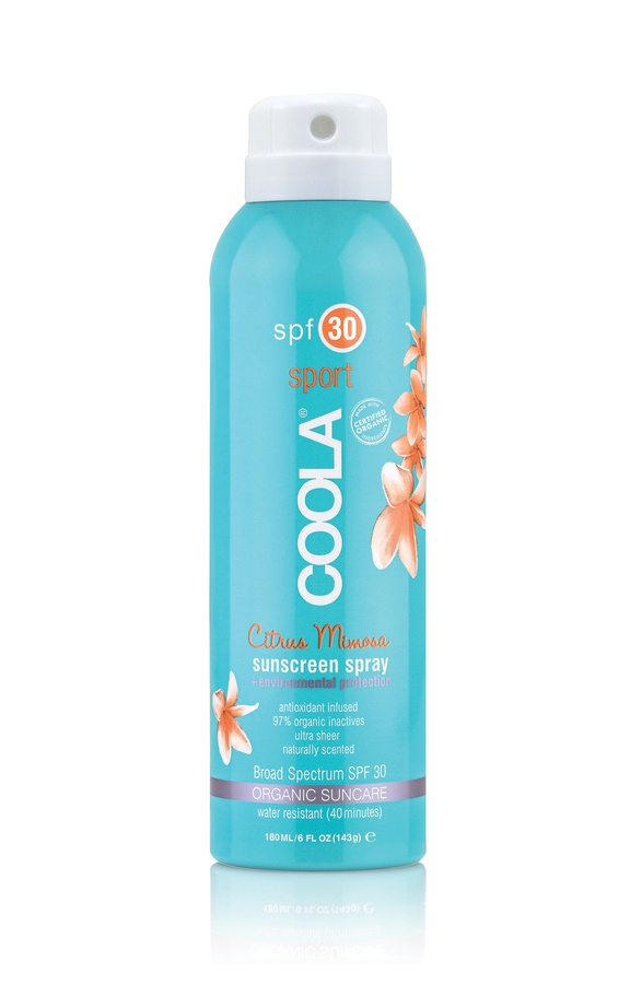 Coola Sport Continuous Spray SPF 30 Citrus Mimosa 180ml