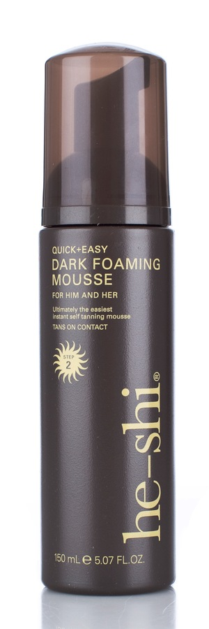 he-shi Dark Foaming Mousse 150ml