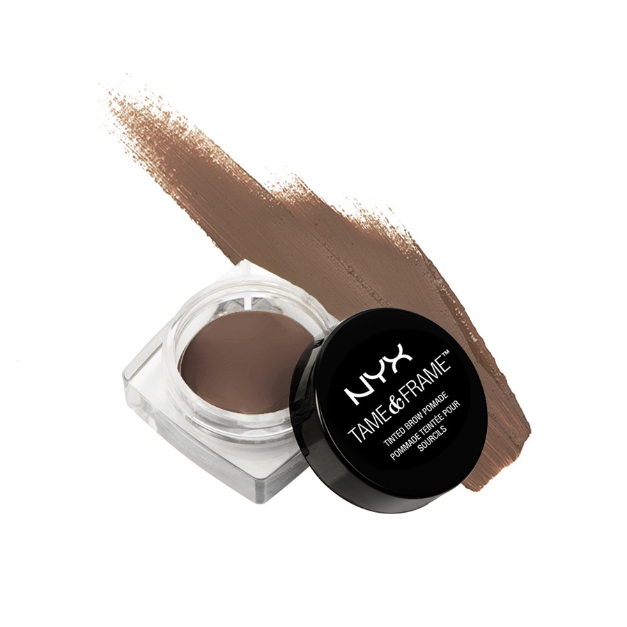 NYX Prof. Makeup Tame & Frame Tinted Brow Pomade 02 Chocolate TFBP02