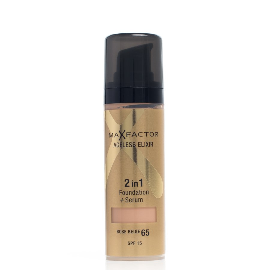 Max Factor Ageless Elixir 2-In-1 Foundation + Serum Rose Beige 65 Spf15