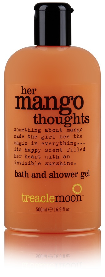 Treacle Moon Mango Thoughts Bath And Shower Gel 500ml