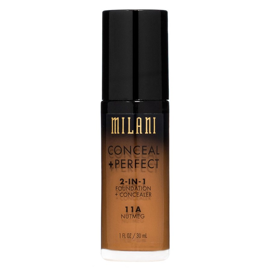 Milani Conceal & Perfect 2 In 1 Foundation + Concealer Nutmeg