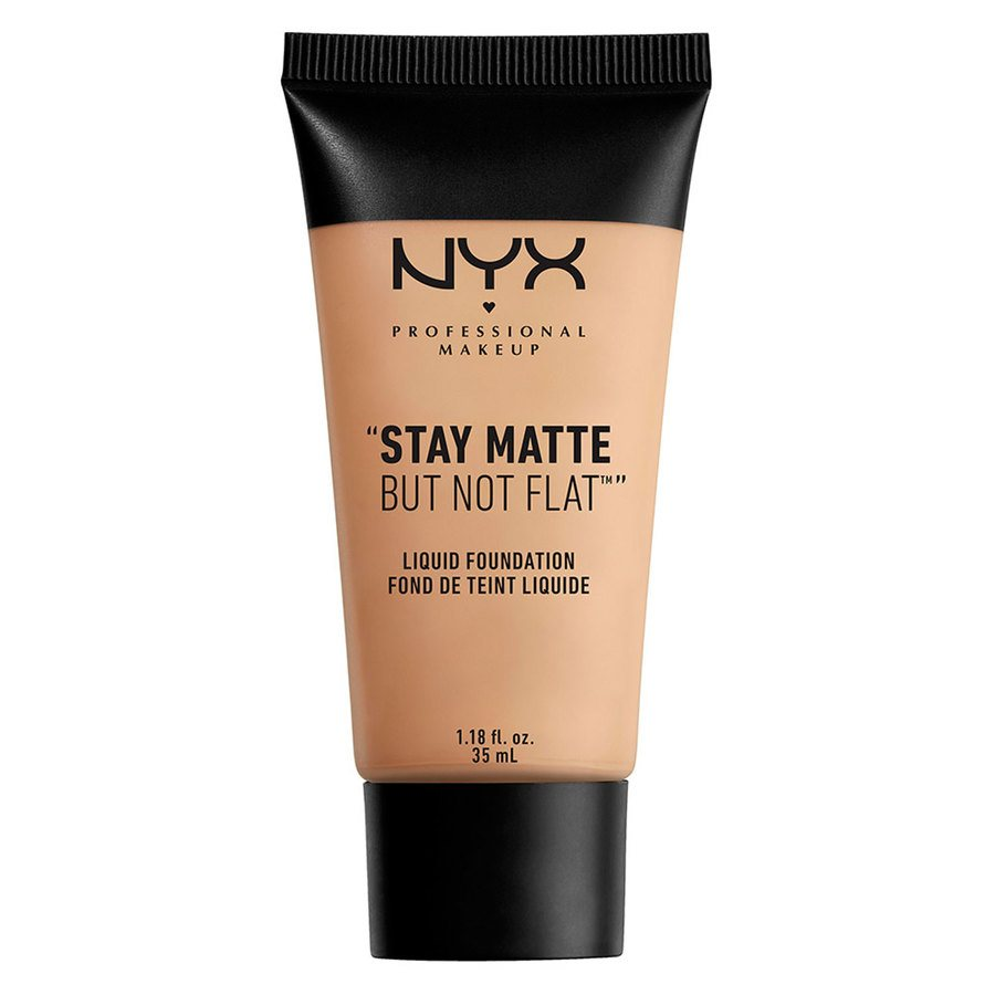 NYX Prof. Makeup Stay Matte But Not Flat Liquid Foundation Soft Beige 35ml SMF05