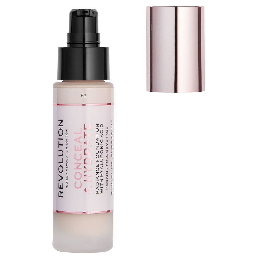 Makeup Revolution Conceal & Hydrate Foundation F3 23ml
