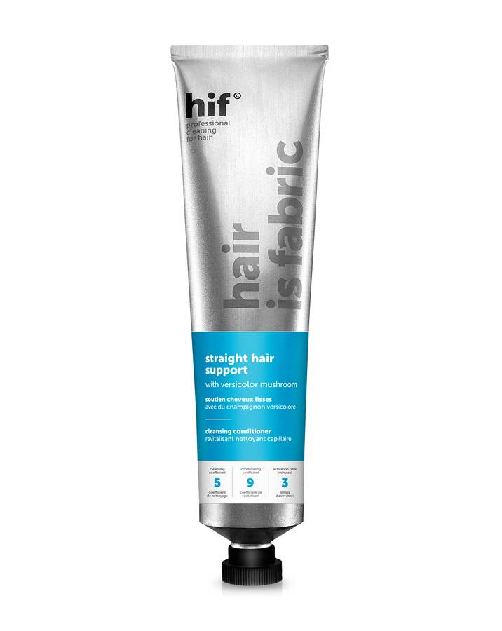 Hair Is Fabric Cleansing Balsam Straight Hair Support