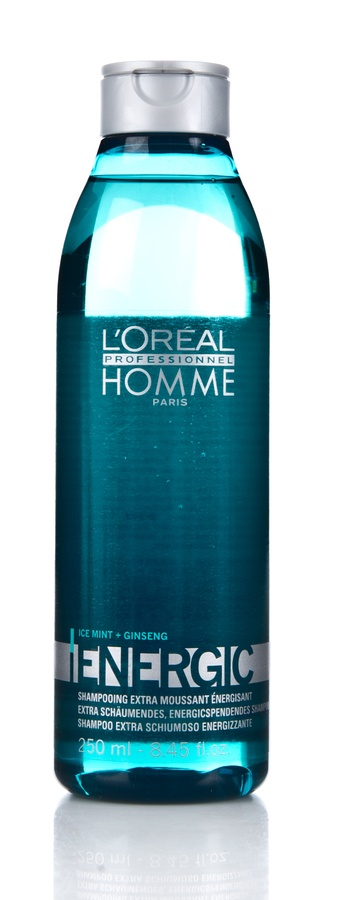 L'Oréal Professionnel Homme, Energic Ice Mint & Ginseng Shampoo 250ml