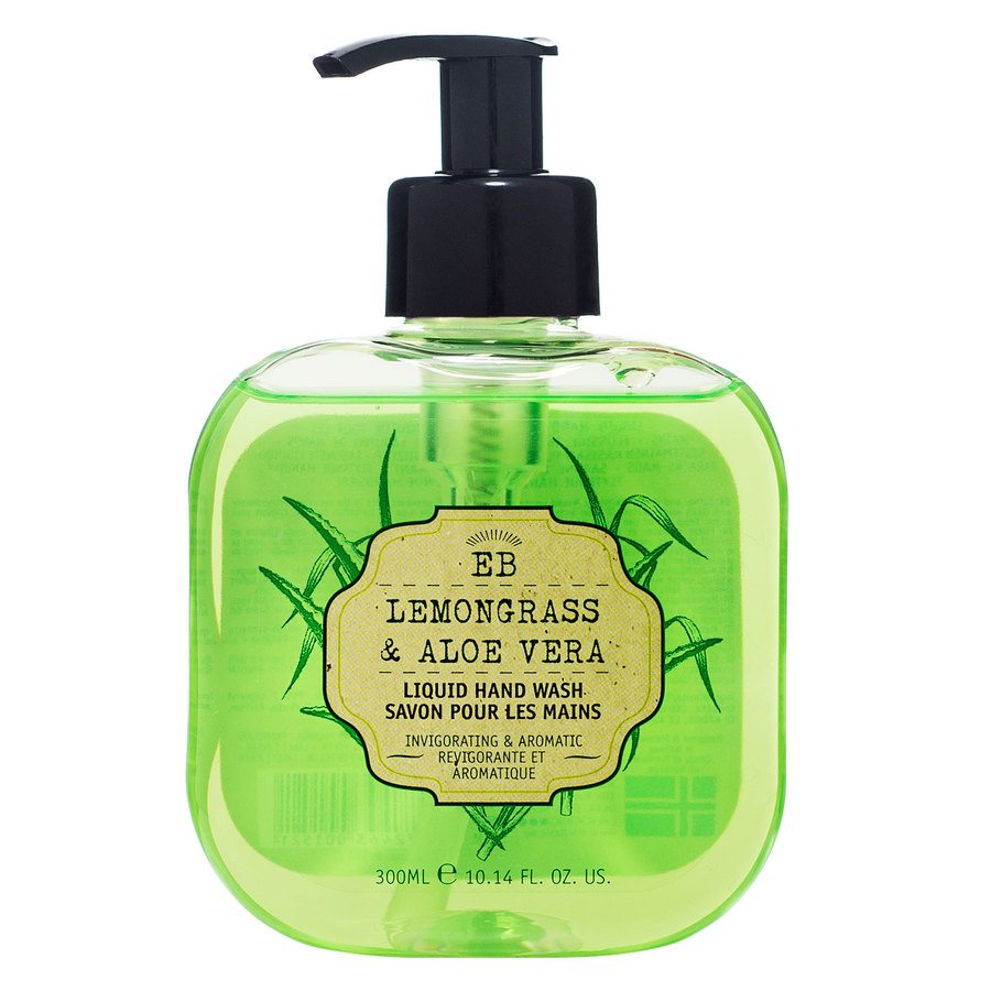 Elle Basics Wash Liquid Hand Lemongrass & Aloe Vera Green 300ml