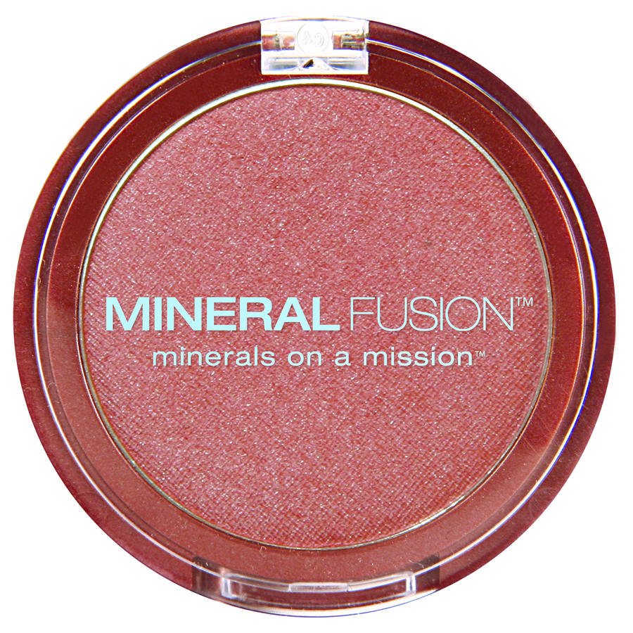 Mineral Fusion Blush impact