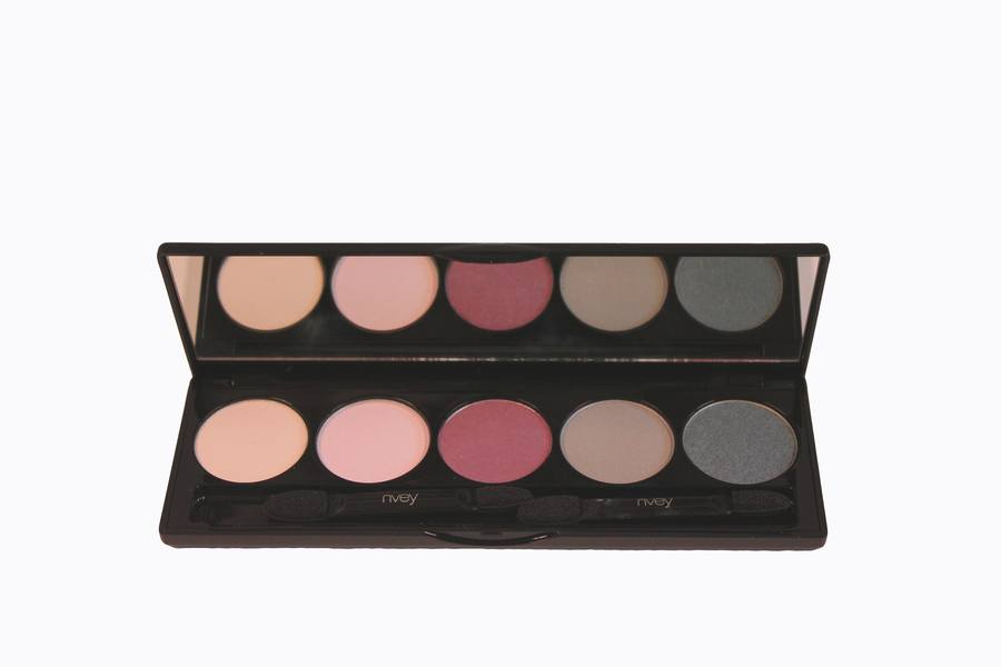 Nvey ECO Eye Shadow Palette 5 Colour Collection N° 10 Precious Plum Sky (150, 159, 162, 163, 166)  7,5g