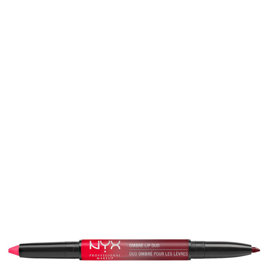 NYX Professional Makeup Ombre Lip Duo Lipstick & Lipliner Old12 Bonnie & Clyde