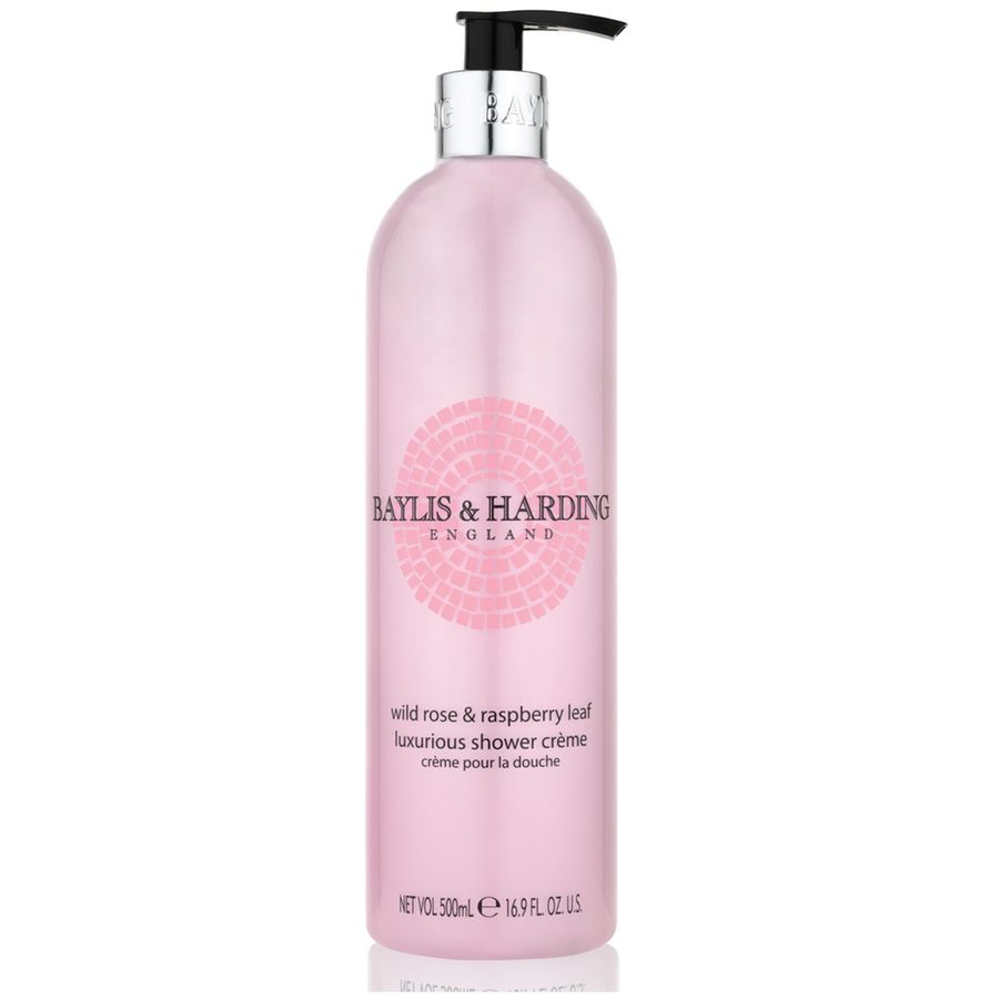 Baylis & Harding Wild Rose & Raspberry Leaf Shower Cream 500ml