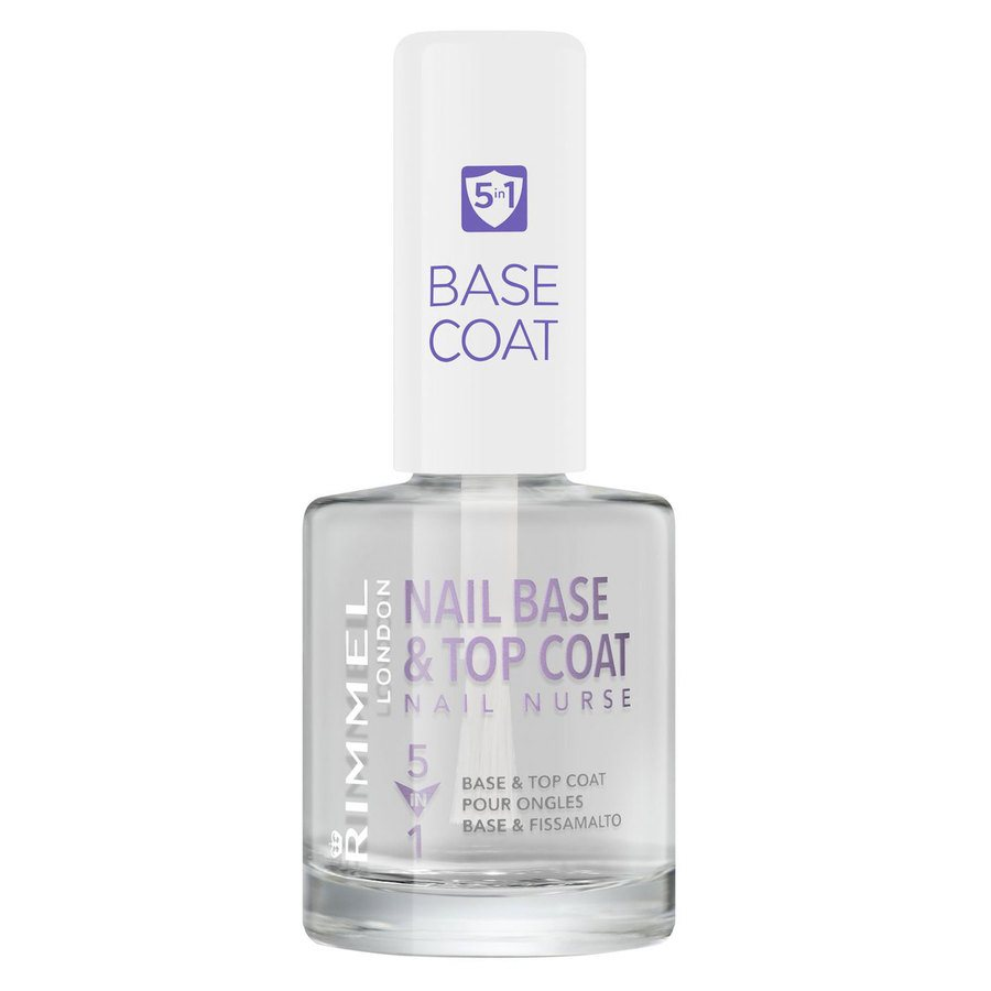 Rimmel London 5In1 Nail Nurse Base And Top Coat 12ml