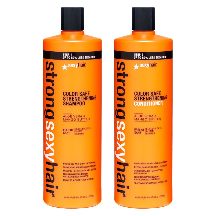 Strong Sexy Hair Color Safe Shampoo & Conditioner 2 x 1000ml