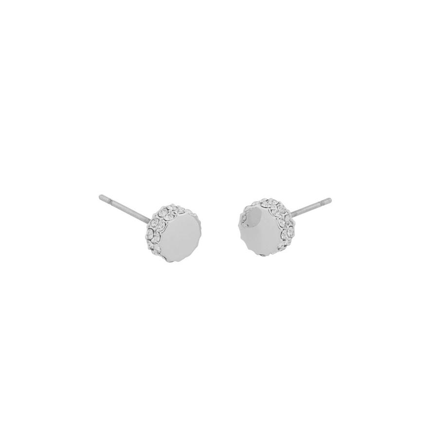 Snö Of Sweden Marly Small Earring Silver/Clear 7mm