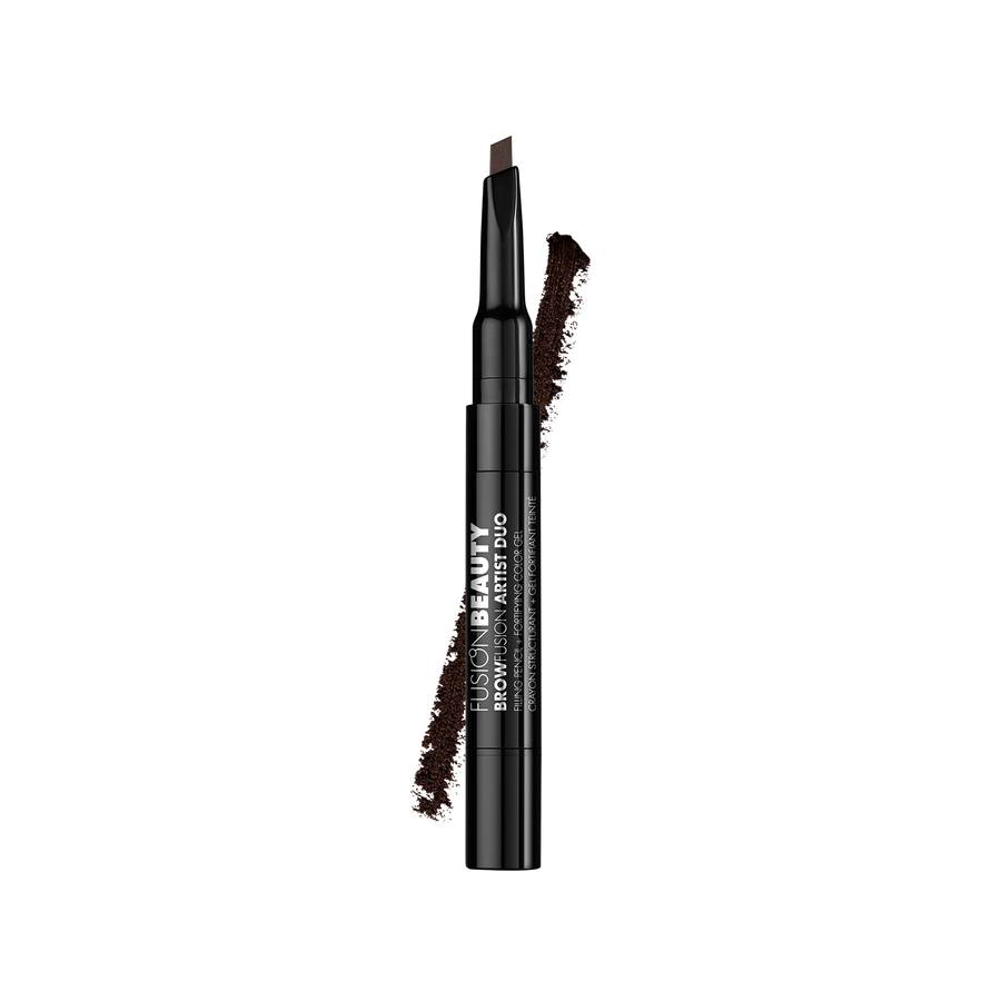 Fusion Beauty BrowFusion Artist Duo Filling Pencil + Color Gel #Dark Brown 2,9g