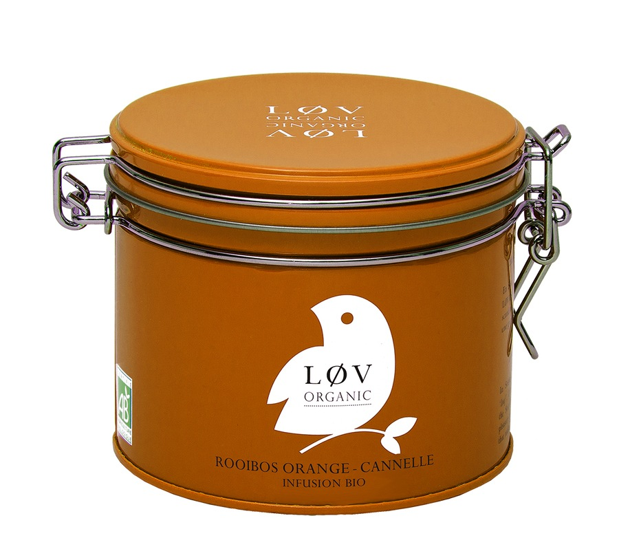 LØV Organic Orange-Cinnamon Rooibos