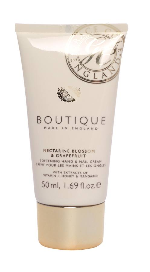Grace Cole The Boutique Hand & Nail Cream Nectarine Blossom & Grapefruit 50ml