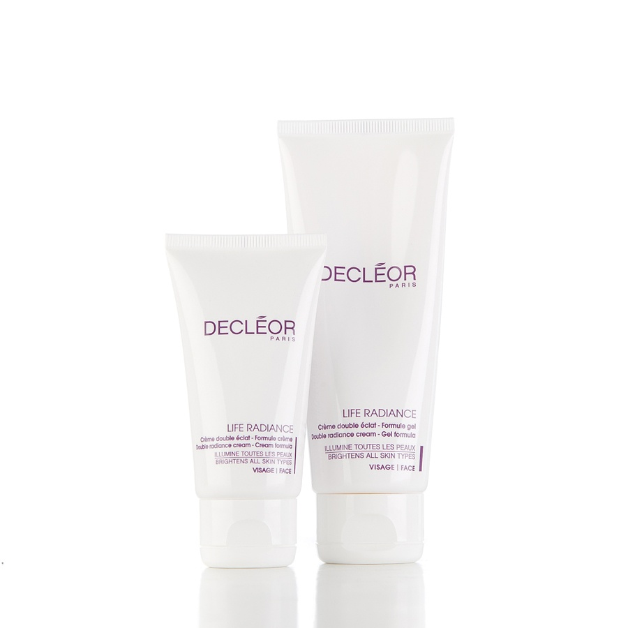 Decléor Life Radiance Double Radiance Cream 50ml + 100ml Gel