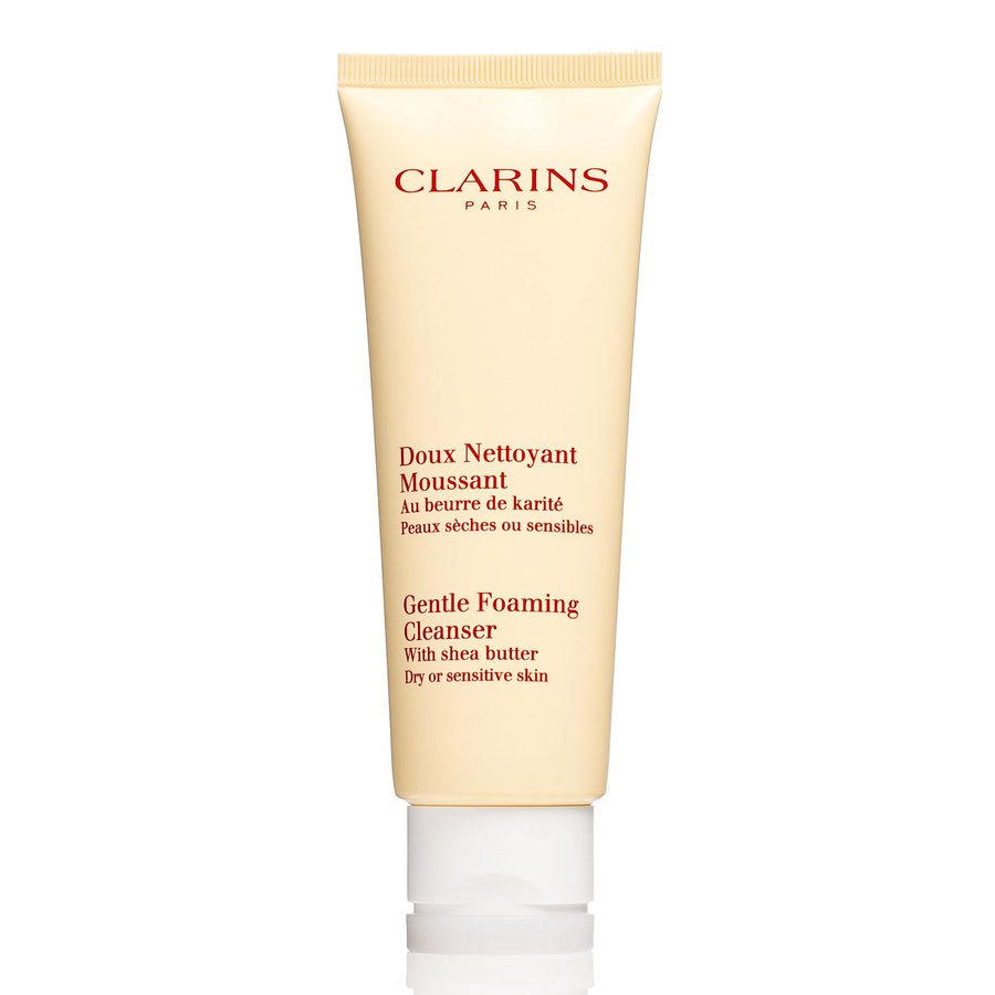 Clarins Gentle Foaming Cleanser With Shea Butter Dry Or Sensitive Skin 125ml