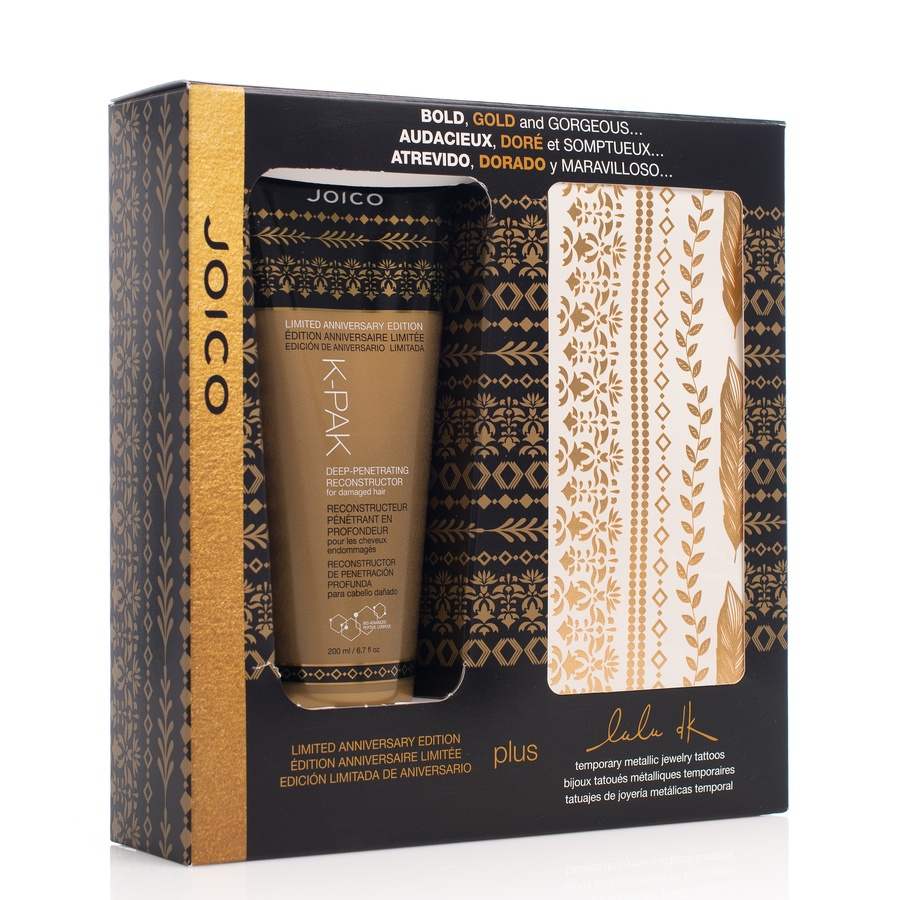 Joico K-pak Deep-Penetrating Reconstructor Special Edition 200ml + tattoos