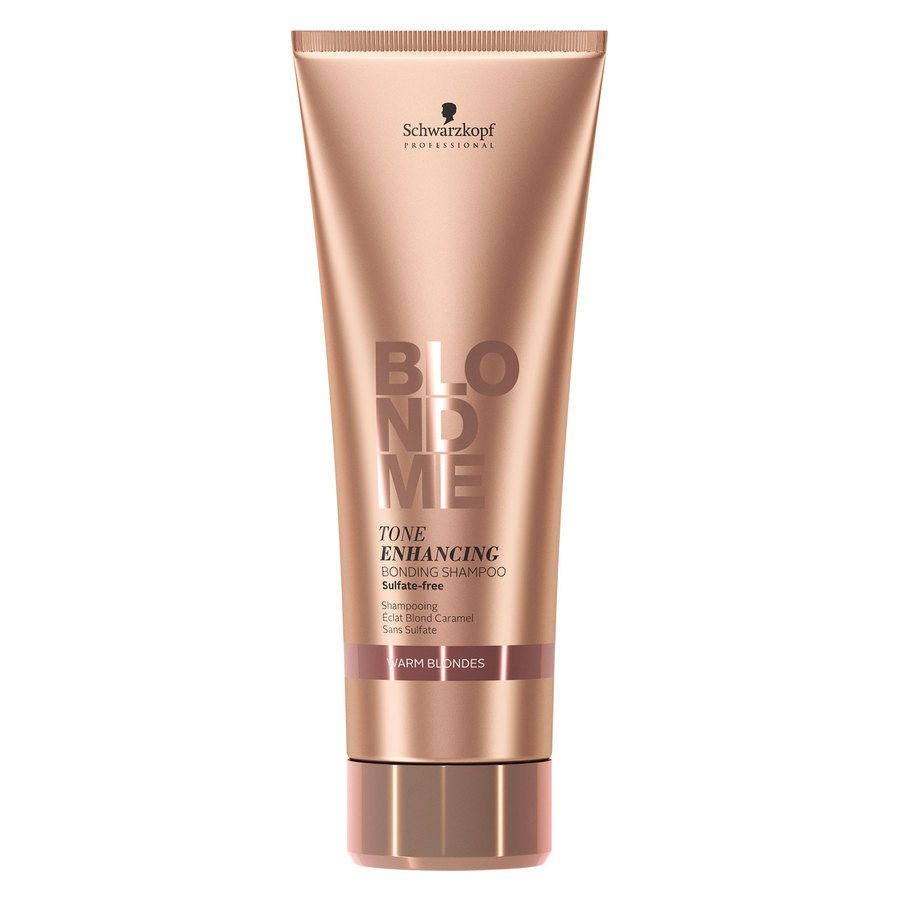 Schwarzkopf BlondeMe Tone Enchancing Bonding Shampoo Warm Blondes 250ml