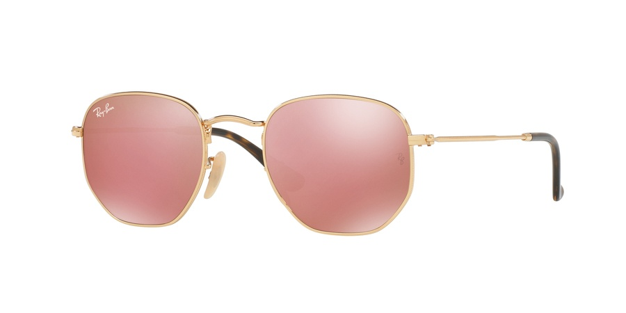 Ray Ban 0RB3548N/001/Z2 Gold/pink