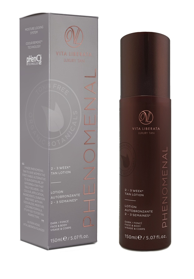 Vita Liberata pHenomenal 2 3 Week Tan Lotion Face & Body Dark 150ml