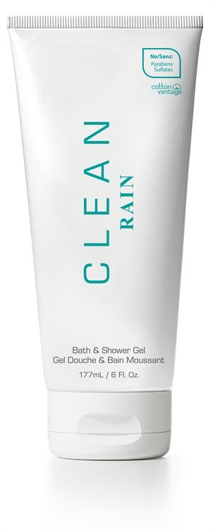 CLEAN Rain Bath & Shower Gel 177ml