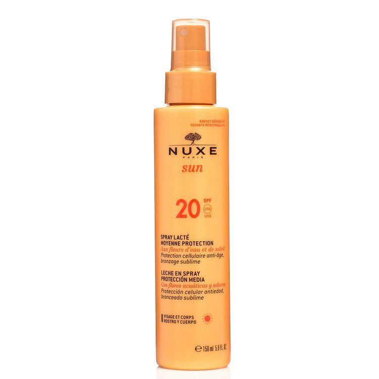 Nuxe Sun Spray Lacté Moyenne Protection  Spf 20 150ml
