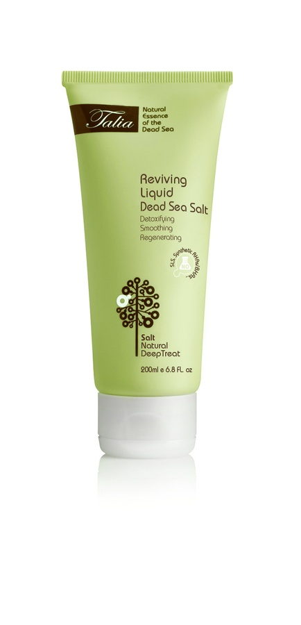 Talia Salts Pure Minerals Reviving Liquid Dead Sea Salt 200ml
