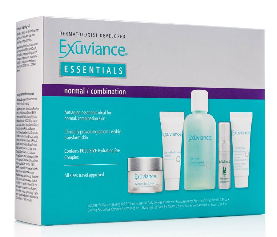 Exuviance Essentials Travel Collection Normal /Combination Skin