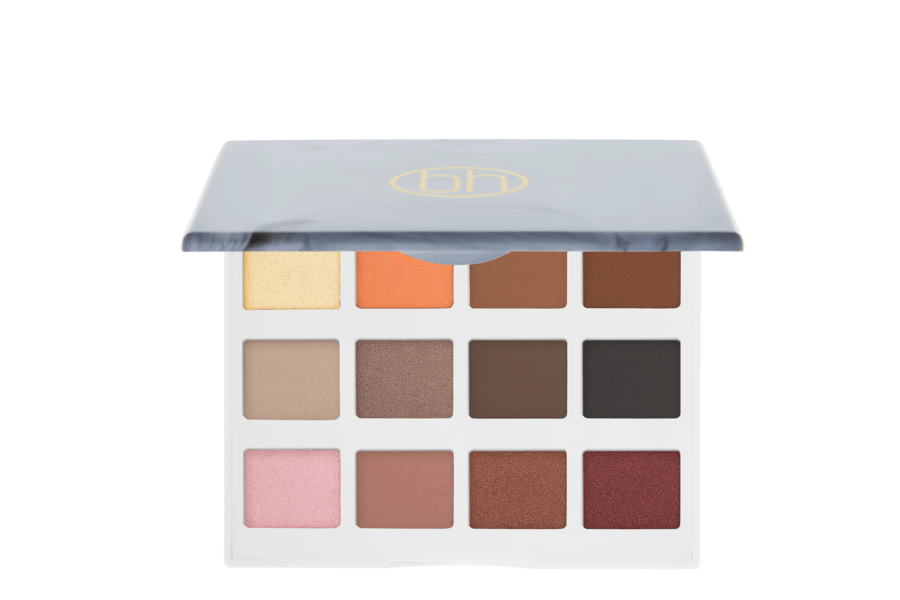 bh Cosmetics Marble Collection Warm Stone 12 Color Eyeshadow Palette 18g
