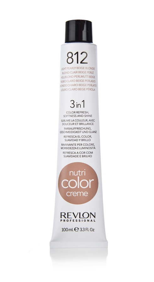 Revlon Professional Nutri Color Creme 100ml #812 Light Pearly Beige Blonde