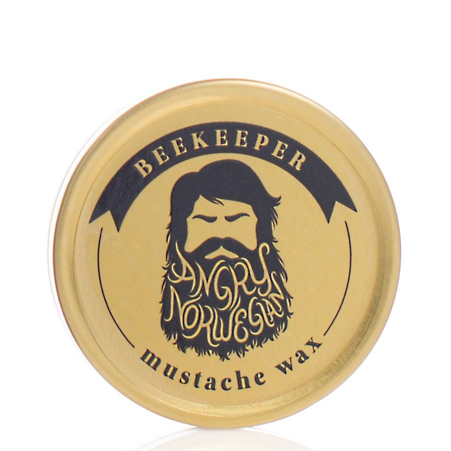 Angry Norwegian Mustasjevoks 10ml/15g