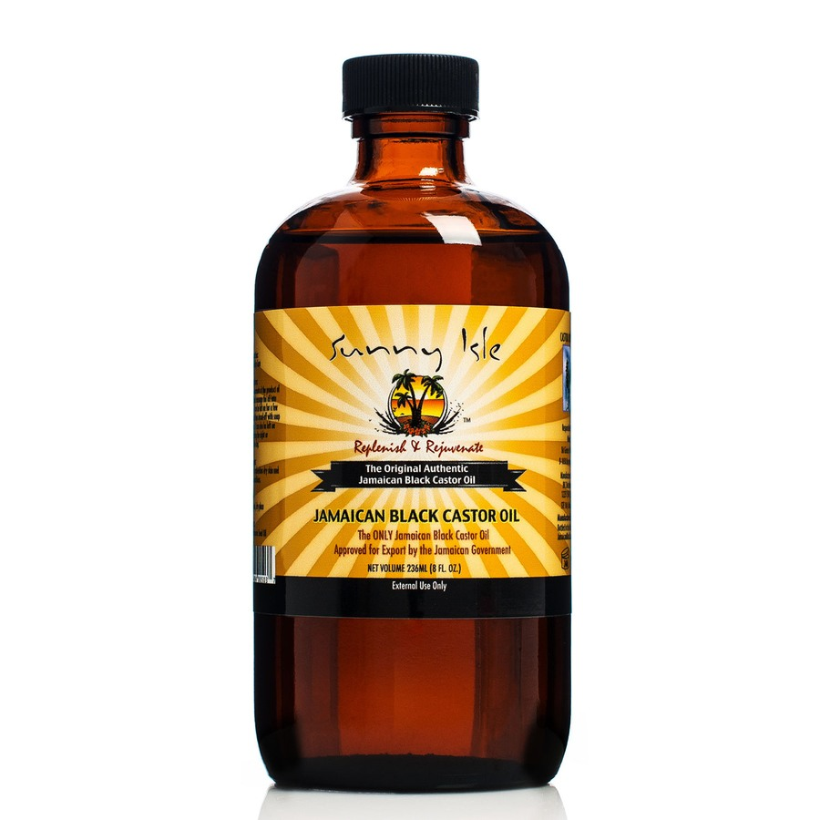 Sunny Isle Jamaican  Castor Oil  Regular Jamaican Black 236 ml