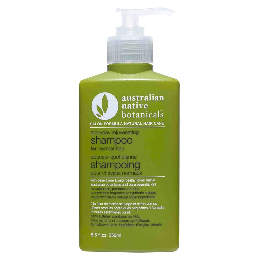 Australian Native Botanicals Everyday Rejuvinating Shampoo For Normal Hair 250ml