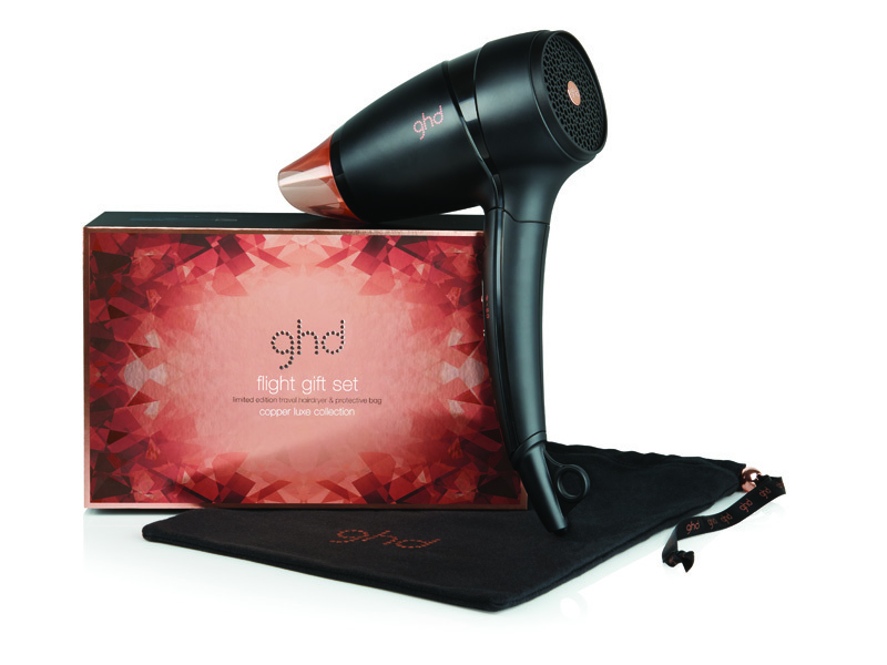 GHD Flight Gift Set Copper Luxe Collection