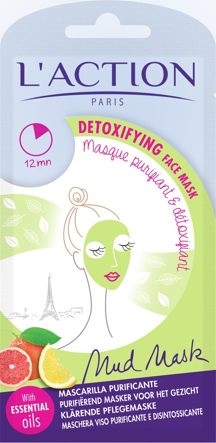 L'Action Paris Detoxifying Face Mask 18g
